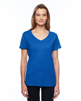 Hanes 42V0 Ladies' X-Temp Performance V-Neck