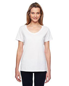 Hanes 42V0 Ladies X Temp Performance V Neck T-Shirt
