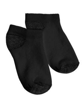 Hanes 434/6B Boy's No-Show Comfortblend Assorted Socks 6 Pack