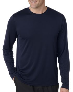 Hanes 482L Adult Cool DRI with FreshIQ Long Sleeve Performance T-Shirt