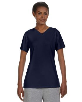 Hanes 483V Cool DRI Women's Performance V Neck T-Shirt