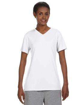 Hanes 483V Cool DRI Women's Performance V Neck T-Shirt
