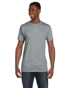 'Hanes 4980 Adult Contemporary Ring Spun 4.5 oz Cotton Fit T-Shirt'