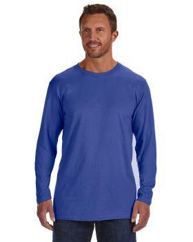 Hanes 498L Adult Ringspun Cotton nano-T Long-Sleeve T-Shirt