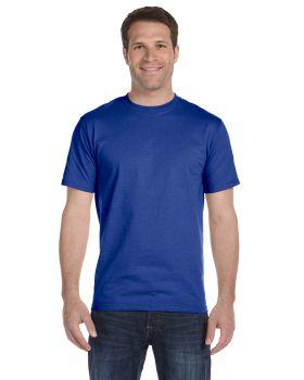 6 MENS Wholesale  Hanes Beefy-T 5180 100/% Cotton White Adult T-Shirts S M L XL