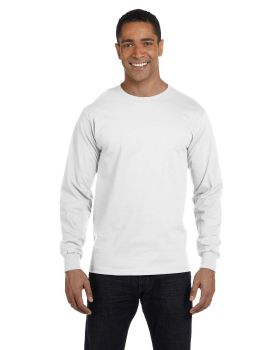 Hanes 5286 ComfortSoft Long Sleeve Cotton T-Shirt