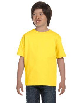 Hanes 5480 Boys' TAGLESS ComfortSoft Crewneck T-Shirt
