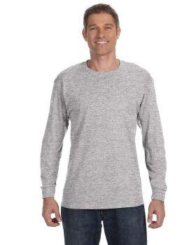 'Hanes 5586 Tagless Cotton Long Sleeve T-Shirt'