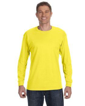 Hanes 5586 Men's Tagless Long Sleeve T Shirt