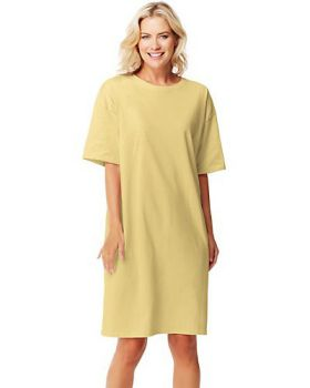 Hanes 5660 Ladies' Soft Cotton Wear Around T-Shirt