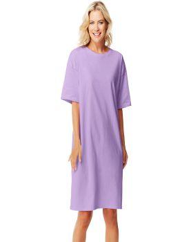 'Hanes 5660 Ladies Soft Cotton WearAround T-Shirt'