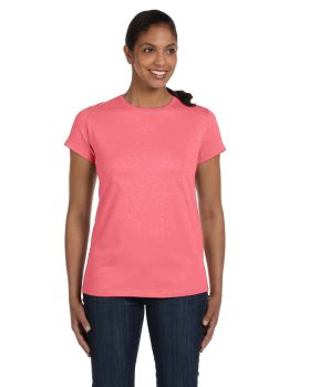 Hanes 5680 Ladies Tagless T-Shirt