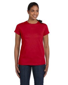 Hanes 5680 Ladies Tagless T-Shirt