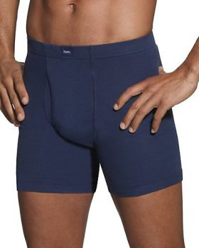 Hanes 769CP5 Classics Men's Dyed Boxer Briefs with ComfortSoft Waistband ...