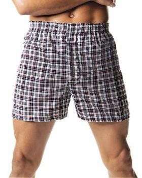Hanes 838VTY Men's Tartan Boxers with Comfort Flex Waistband 2-Pack