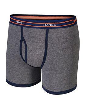 Hanes BX6RP4 X-Temp Boys' Ringer Boxer Brief with Comfort Flex Waistband ...