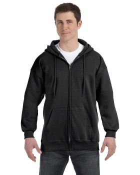 Hanes F280 Adult Ultimate Full Zip Hood Hooded Sweatshirts