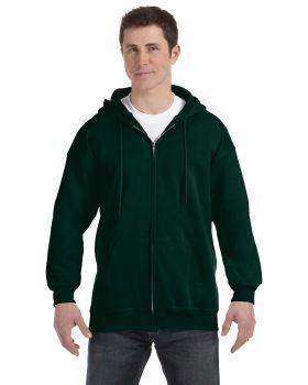 'Hanes F280 Adult Ultimate Full Zip Hood Hooded Sweatshirts'