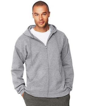 Hanes F280 Adult Ultimate Cotton 90/10 Full-Zip Hood