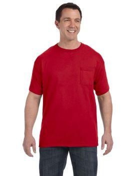 Hanes H5590 Men's Tagless Pocket T-Shirt