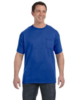 Hanes H5590 Men's Tagless Pocket T-Shirt