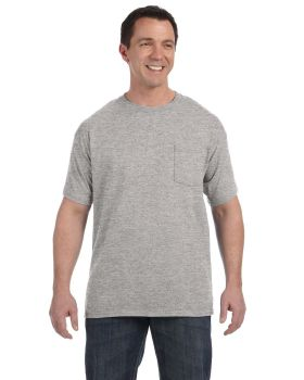 'Hanes H5590 Men's Tagless Pocket T-Shirt'