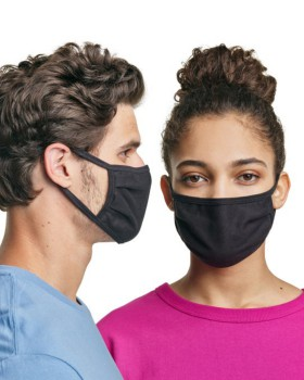'Hanes MASKN2 Wicking Cotton Masks (Pack of 10)'