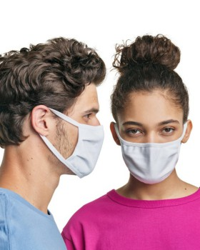 Hanes MASKN2 Wicking Cotton Masks (Pack of 10)