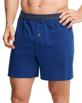 Hanes MKCBX5 Men's TAGLESS ComfortSoft Knit Boxers with ComfortSoft Wais ...