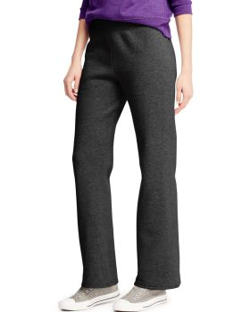 Hanes O4629 ComfortSoft EcoSmart Women's Open Leg Fleece Sweatpants