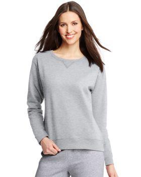 Hanes O4633 ComfortSoft EcoSmart Women's Crewneck Sweatshirt