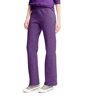 'Hanes O4634 ComfortSoft EcoSmart Women's Petite Open Leg Sweatpants'