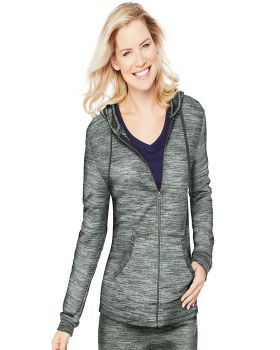 Hanes O4693 Women's French Terry Zip Hoodie