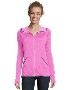 Hanes O4873 Hanes Sport™ Women's Performance Fleece Zip Up Hoodie