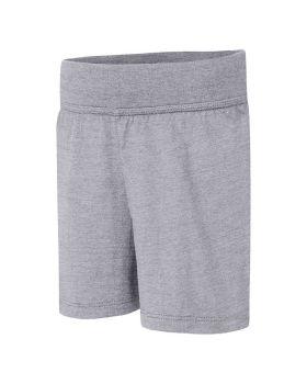 Hanes OK265 Girls' Jersey Short