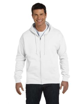 Hanes P180 Adult Cotton Polyester EcoSmart Full Zip Hood