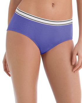 Hanes PP41SC Sporty Women's Hipster Panties 6-Pack