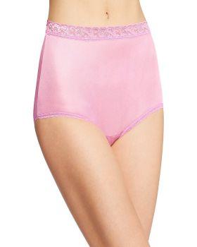 Hanes PP70AS Women's Nylon Brief Panties 6-Pack