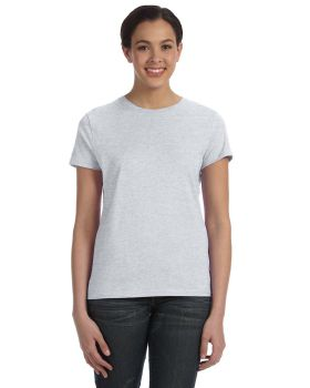 Hanes SL04 Ladies' Ringspun Cotton nano-T T-Shirt