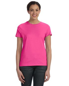 'Hanes SL04 Ladies nano Ringspun Cotton Tee T-Shirt'
