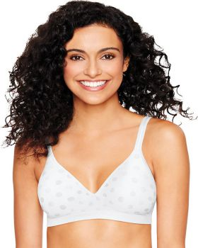 Hanes Ultimate HU08 Women's Perfect Coverage Comfortflex Fit Wirefree Br ...
