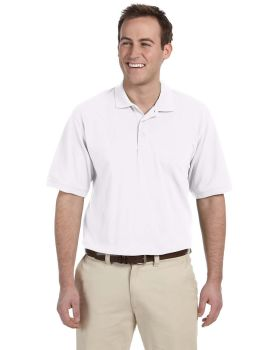 Harriton M265 Men's Easy Blend Polo