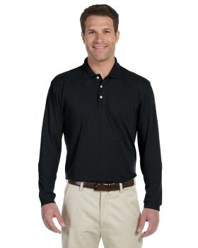 Harriton M265L Men's Easy Blend Long-Sleeve Polo