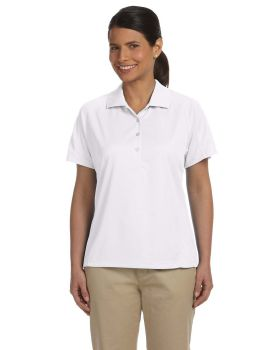Harriton M374W Ladies' Polytech Mesh Insert Polo