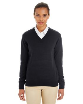 Harriton M420W Ladies' Pilbloc V-Neck Sweater