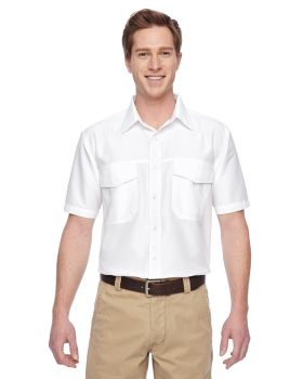 Harriton M580 Men's Key West Short-Sleeve Performance Staff Shirt