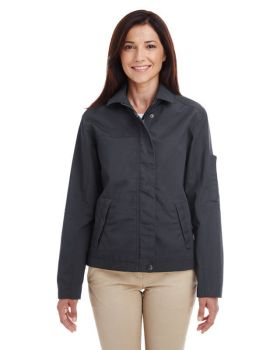 Harriton M705W Ladies' Auxiliary Canvas Work Jacket