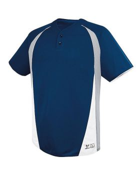 High 5 312121 Youth Ace Two-Button Jersey