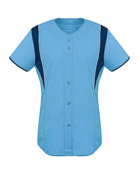 High 5 312142-C Womens Faux Front Jersey