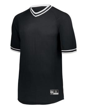 Holloway 221021 Retro V-Neck Baseball Jersey